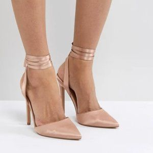 Sexy Shoes ASOS Pied Piper High Heels Nude